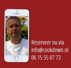 reserveer cookdown